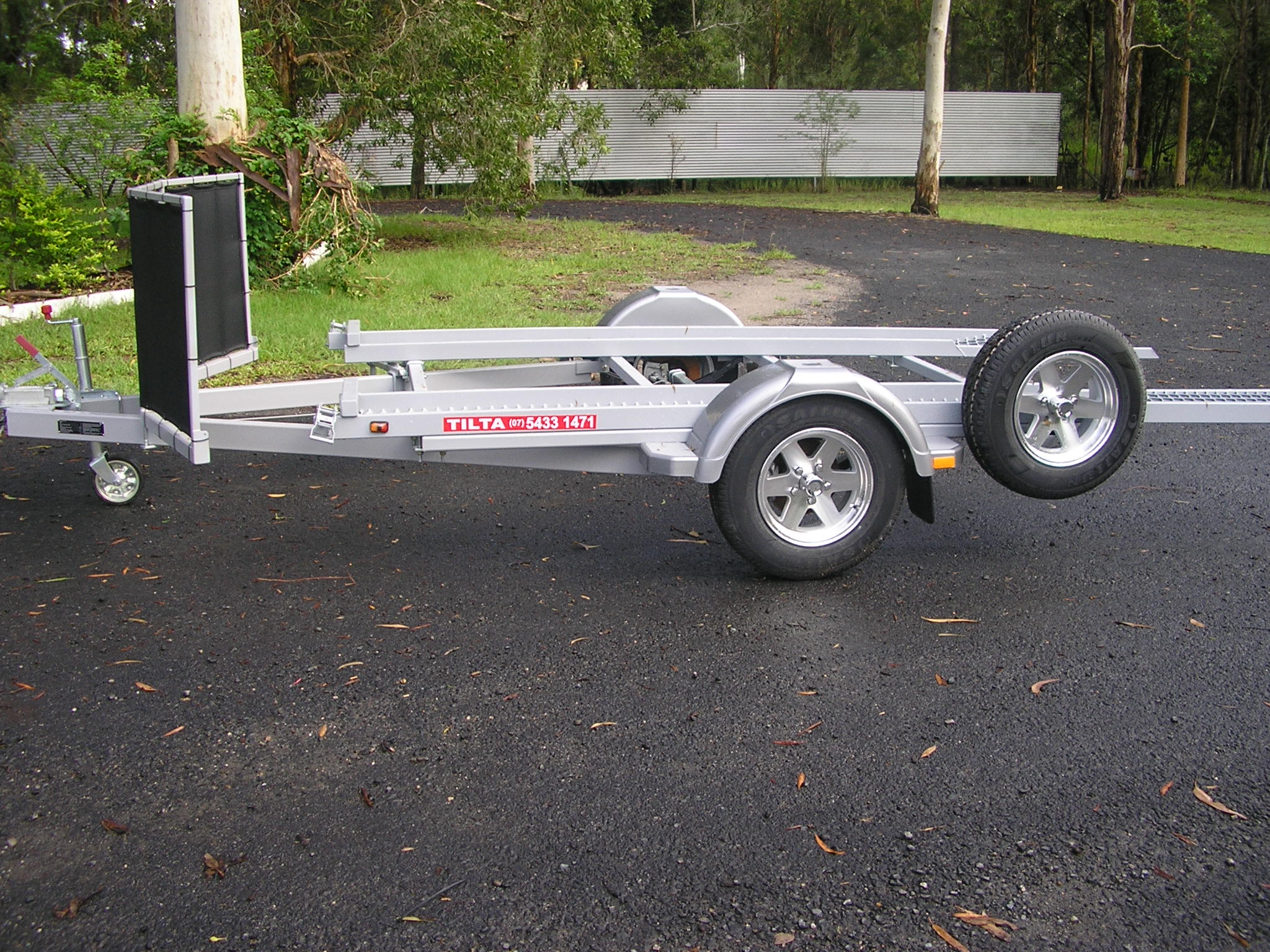 Single Axle Trailer Tilta Trailerstilta Trailers