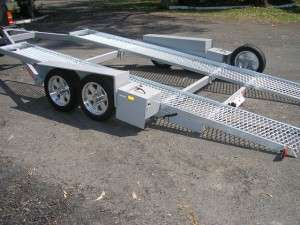 Tandem Car Trailers Qld